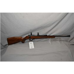 Walther Model KKJ .22 LR Cal Mag Fed Bolt Action Rifle w 22  bbl [ blued finish, starting to fade at