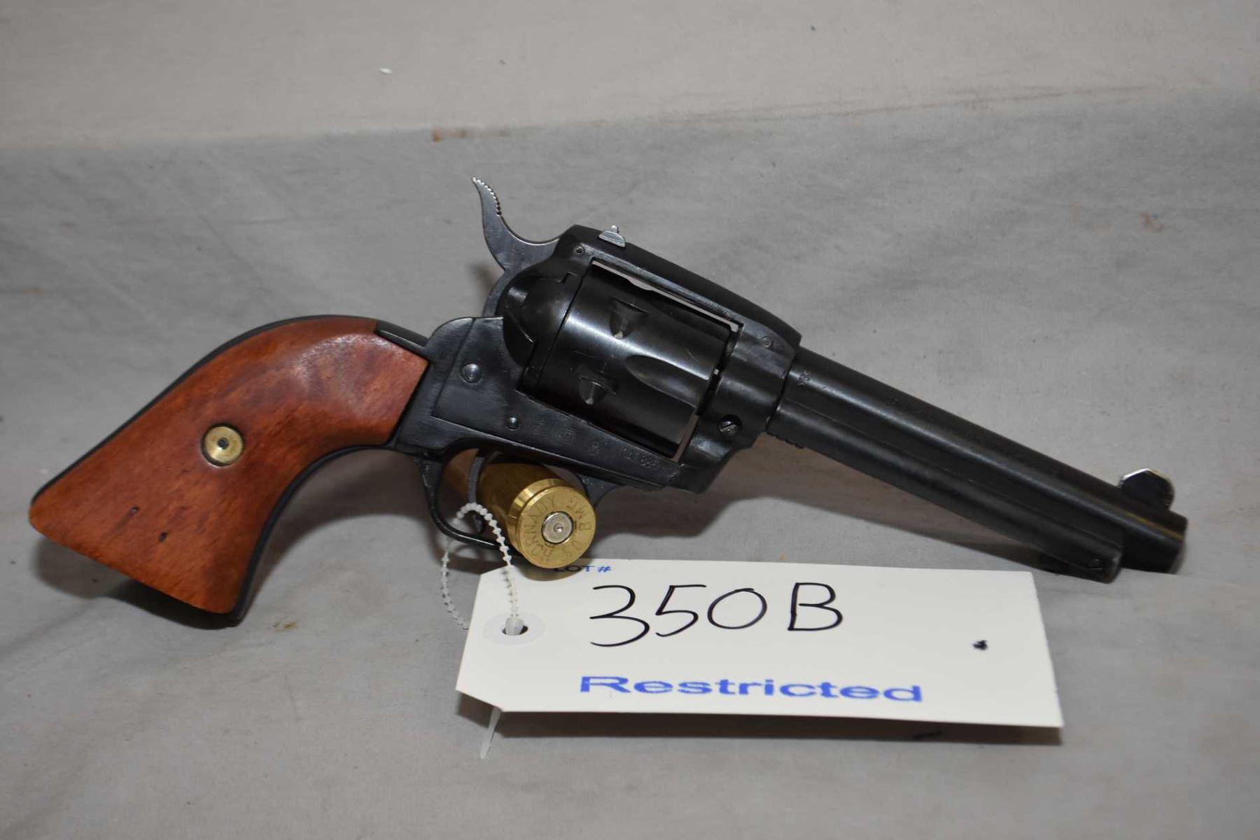 Restricted - Tanfoglio Model TA76  22 LR Cal 6 Shot Revolver w