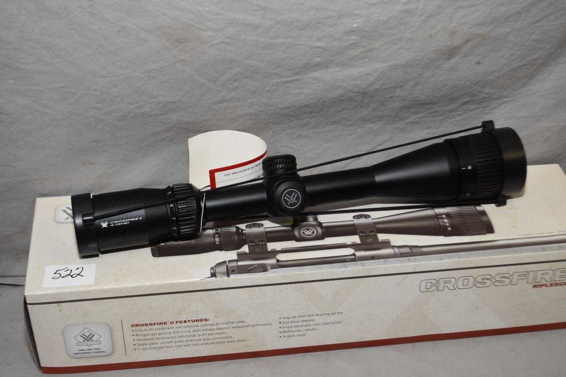 Vortex Crossfire II Rifle Scope ( CF 2 - 31017 ) 4 x - 12 Power