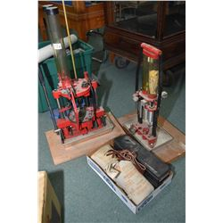 Reloading presses and cleaning kit etc  Two shot gun loading presses