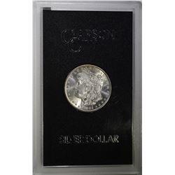 1882-CC GSA MORGAN DOLLAR CH BU IN ORIG. BOX/COA
