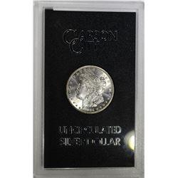 1884-CC GSA MORGAN DOLLAR, CH BU IN ORIG. BOX