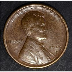 1909-S-VDB LINCOLN CENT  XF