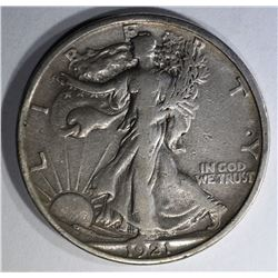 1921-S WALKING LIBERTY HALF F/VF