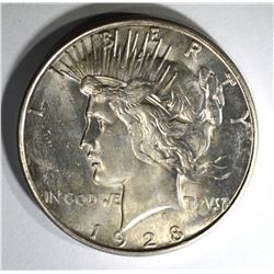 1928-S PEACE DOLLAR  CH BU