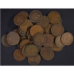40-1898 AVE CIRC INDIAN CENTS