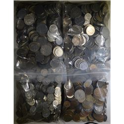 OVER 22 POUNDS FOREIGN COINS GOOD MIX