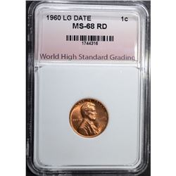 1960 LG DATE LINCOLN CENT WHSG