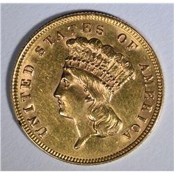 1888 $3.00 GOLD  BU