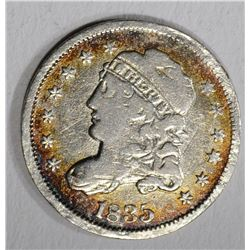 1835 CAPPED BUST HALF DIME  VF