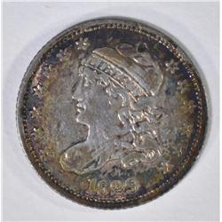 1829 CAPPED BUST HALF DIME  XF-AU