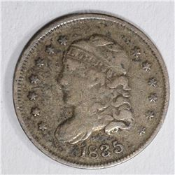 1835 CAPPED BUST HALF DIME  F-VF