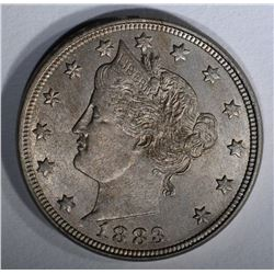1883 WITH CENTS LIBERTY NICKEL CH BU