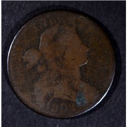 1802 DRAPED BUST LARGE CENT, GOOD