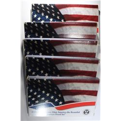 5 - 2010 US Mint America the Beautiful Quarters