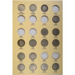 PARTIAL SET OF LIBERTY NICKELS GREAT WAY TO START
