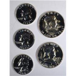 U.S. PROOF COIN LOT: