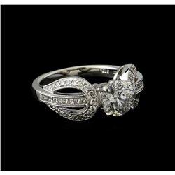 1.97 ctw Diamond Ring - 14KT White Gold