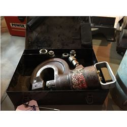 35 TON PUNCH RING UNIT WITH CASE