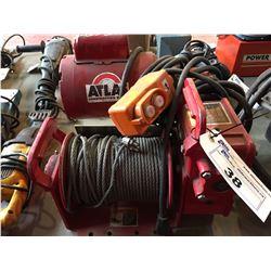 ATLAS 4WP2T8 PORTABLE POWER WINCH