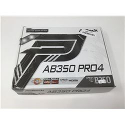 AMD RyzenAB350 PRO4AM4 Socket Motherboard