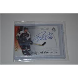 2005-06 SP Authentic Sign of the Times #JP Joni Pitkanen