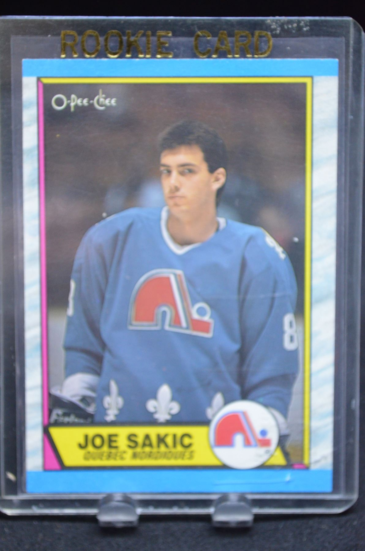 Joe Sakic Rookie Card