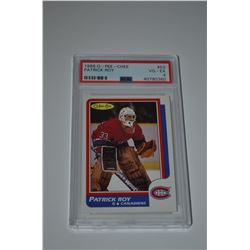 1986-87 O-Pee-Chee #53 Patrick Roy RC