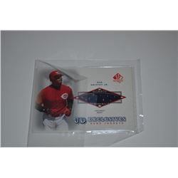 2001 SP Authentic UD Exclusives Game Jersey #KG Ken Griffey Jr.