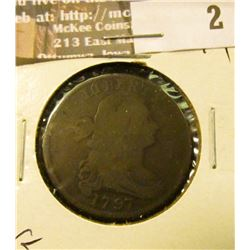 1797 Large Cent, Good.