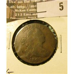 1800/79 Large Cent, Very Good.
