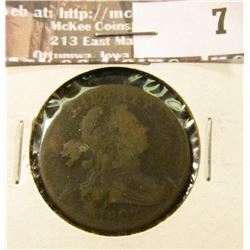 1802 Large Cent, Very Good, corrosion.