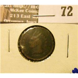 1870 Indian Head Cent, Key Date