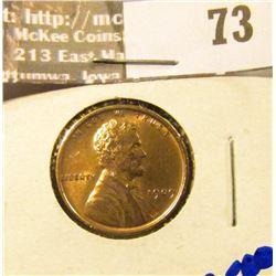 1909 VDB Wheat Cent, Bright and shiny.