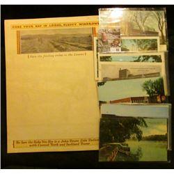 "Bi-Fold Poster ""John Deere Side-Delivery Rake For Making Hay the John Deere Way""; & (10) Different I"