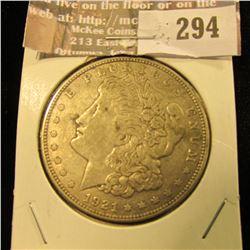 1921 S Morgan Dollar.