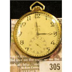 """G.M. Wheeler 17 Jewel"" Elgin Watch Co. Open face Pocket Watch, movement no. 29886506, Star Case Wat"