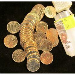 2009 D Solid date Gem BU roll of Puerto Rico Commemorative Quarters. (40 pcs.).