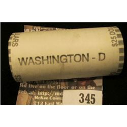 Believed to be a Solid Date Roll of Gem BU 2007 Denver Mint George Washington Presidential Dollars i