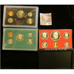 1978 S, 83 S, & 97 S U.S. Proof Sets. All original as issued. CDN bid is $14.50.