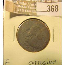 1794 Large Cent, Fine with slight corrosion.