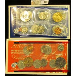 2005 U.S. Mint Set, containing $5.92 face value and Red Book value of $16.95.
