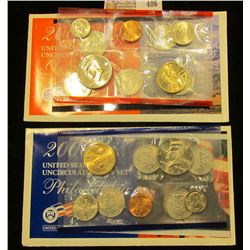2006 U.S. Mint Set, containing $5.82 face value and Red Book value of $16.95.