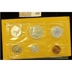 1963 U.S. Proof Set in original envelope as issued. CDN Bid is $16.25.