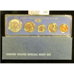 1966 U.S. Mint Set in original box of issue.