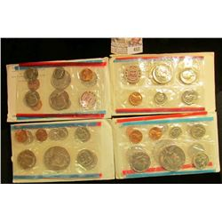 1971, 72, 73, & 74 U.S. Mint Sets, original as issued. CDN bid is $18.50.