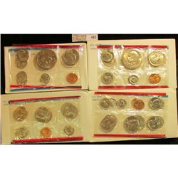 1977, 78, 79, & 80 U.S. Mint Sets, original as issued. CDN bid is $18.50.