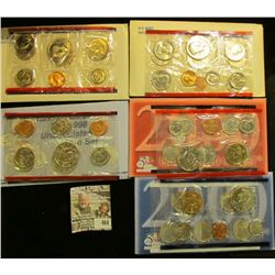 1979, 81, 98, & 2000 U.S. Mint Sets, original as issued. CDN bid is $20.50.
