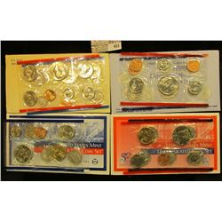 1981, 1998, & 2002 U.S. Mint Sets, original as issued. CDN bid is $16.00.
