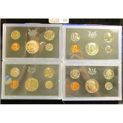 1968 S, 69 S Silver & 71 S & 72 S Clad U.S. Proof Sets. All original as issued. CDN bid is $17.00.